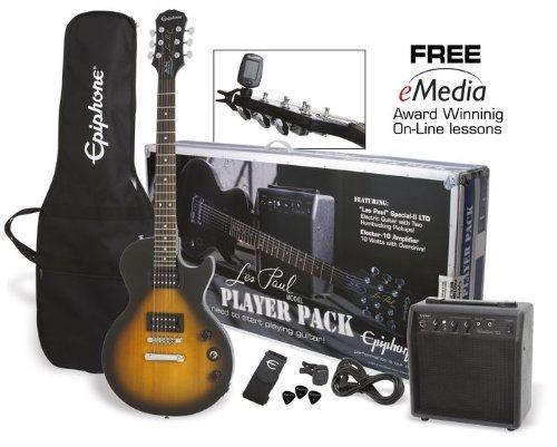 Epiphone Guitar Pack - Vintage Sunburst