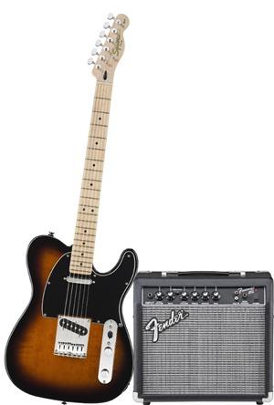 Squier by Fender Tele Electric Guitar Pack - Sunburst