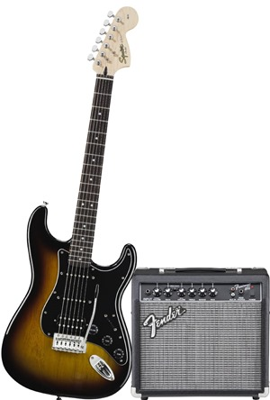 Squier by Fender Strat HSS Electric Guitar Pack