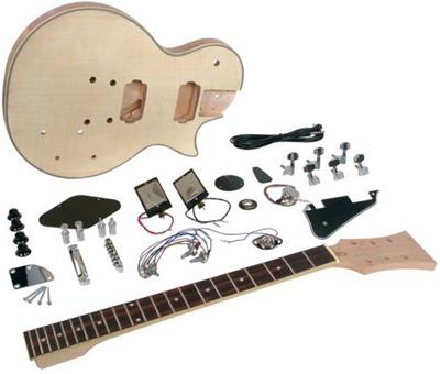 Saga LC-10 LP Style Electric Guitar Kit
