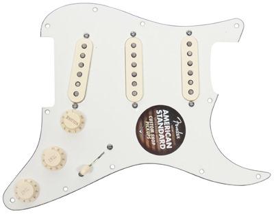 American Fender Strat Loaded Custom Shop Fat 50s Pickguard Stratocaster Prewired