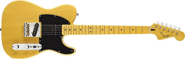 Squier by Fender Vintage Modified Telecaster Special Electric Guitar, Maple Fingerboard, Butterscotch Blonde