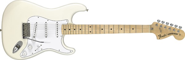 Fender Classic Series '70s Stratocaster, Maple Fretboard - Olympic White