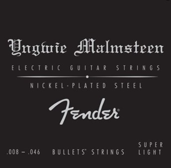 Fender 073-3250-600 Yngwie Malmsteen Signature Electric Guitar Strings