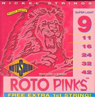 Rotosound Roto Pinks