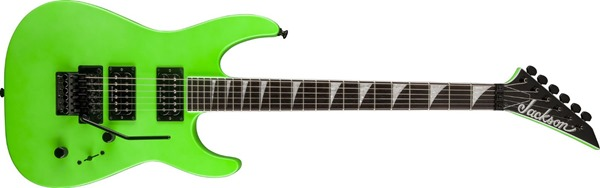 Jackson Soloist SLX Electric Guitar with Rosewood Fretboard - Slime Green
