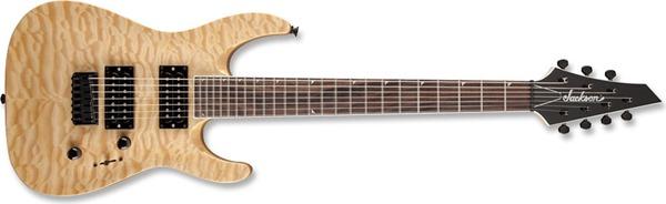 Jackson JS32-7Q Dinky - Natural, 7 String