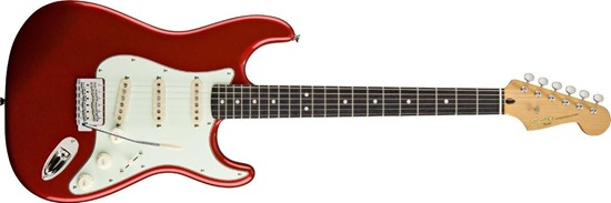 Squier by Fender Classic Vibe Stratocaster 60s, Candy Apple Red