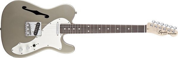 Squier Vintage Modified Telecaster Thinline in Shoreline Gold