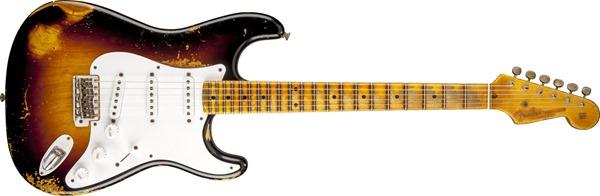 Fender Custom Shop 60th Anniversary 1954 Heavy Relic Stratocaster Electric Guitar