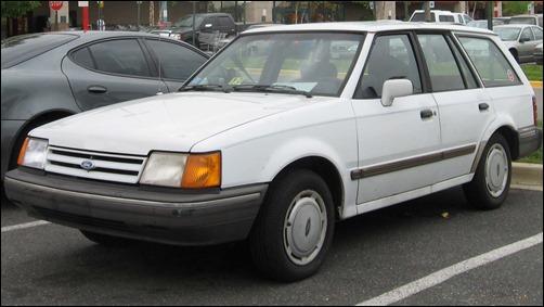 1990 Ford Escort Wagon