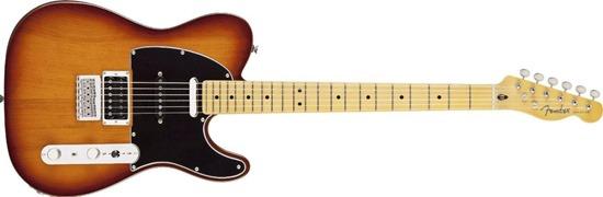 Fender Modern Player Tele® Plus  Electric Guitar, Honey Burst, Maple Fretboard