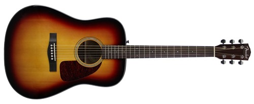 Fender CD-140S Dreadnought Acoustic Guitar - Sunburst