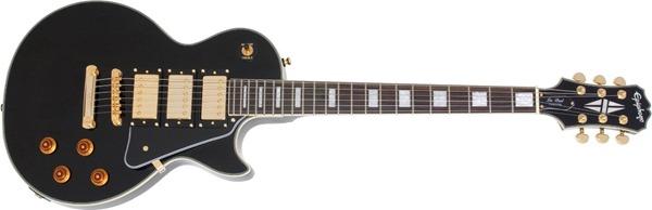 Epiphone Les Paul Black Beauty 3 Electric Guitar, Ebony