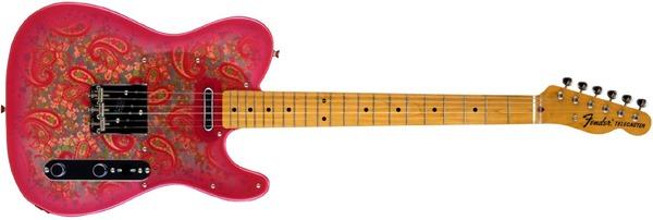 Fender Japan TL69 PRD Telecaster JAPANESE Paisley Electric Guitar (Japan Import)