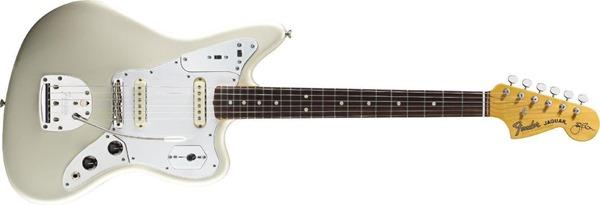 Fender Johnny Marr Jaguar, Rosewood Fingerboard - Olympic White