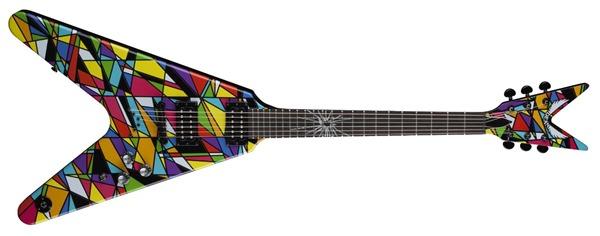 Dean Guitars MS KALEIDO Michael Schenker Kaleidoscope Electric Guitar