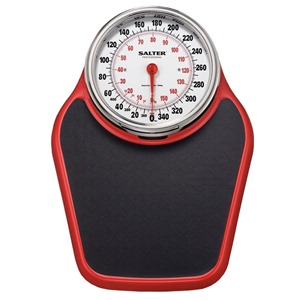 Salter 200 Academy Professional Mechanical Scale, Red and Black