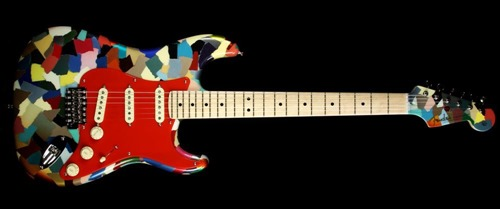 "Fender Custom Shop Dale Wilson ""Clown Patch"" Stratocaster"
