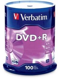 Verbatim 100-count DVD+R