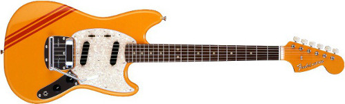 Fender Mustang Competition Yellow