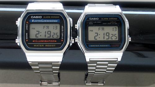 Casio A168 and A158