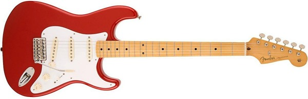Fender '50s Stratocaster in Rangoon Red