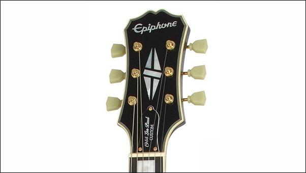 """Epiphone """"1955"""" Les Paul Custom headstock"""