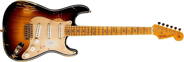 Fender Custom Shop Limited Edition Golden 1954 Heavy Relic Strat