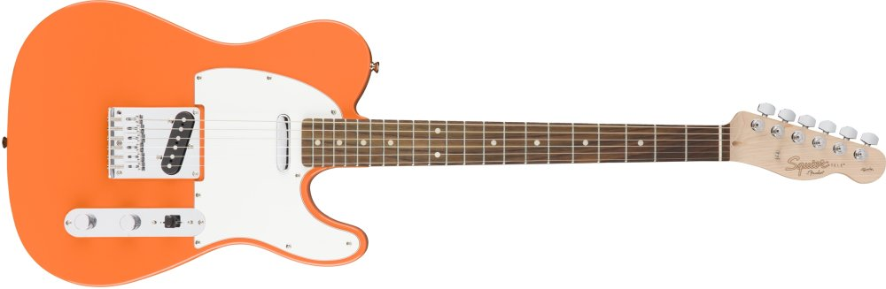 Squier Affinity Telecaster in Competition Orange