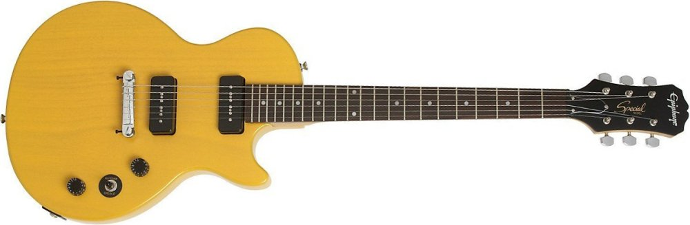 Epiphone Les Paul Special I P90 in TV Yellow