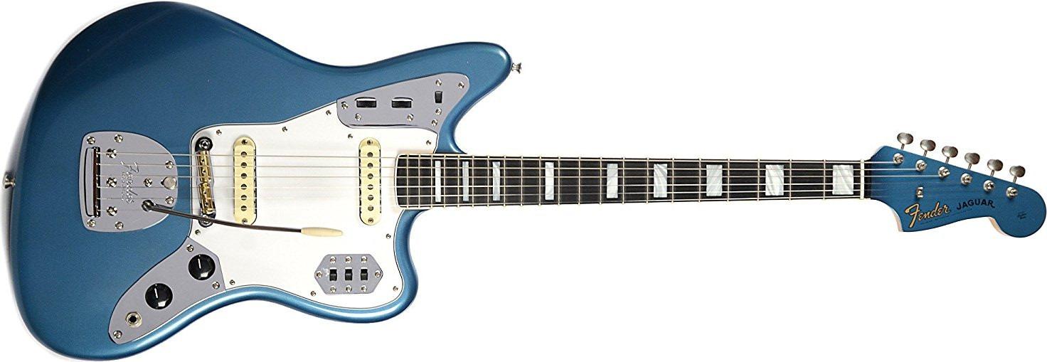 Fender Custom Shop Full-Scale Jaguar Closet Classic Aged Lake Placid Blue w/Matching Headcap Masterbuilt by Dennis Galuszka