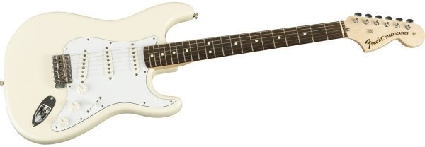 Fender Classic Series '70s Stratocaster, Rosewood Fretboard , Olympic White