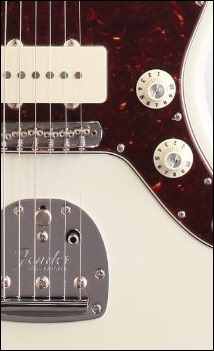 Fender American Vintage '65 Jazzmaster with correct knobs
