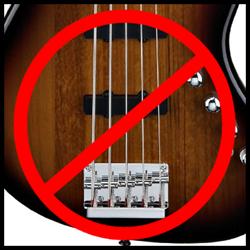 No 5 string!