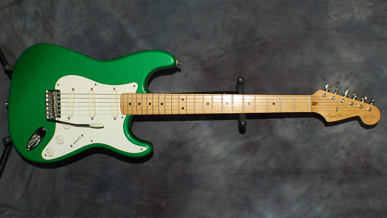 Stratocaster in 7UP Green
