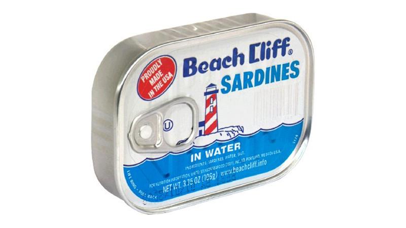 Beach Cliff Sardines
