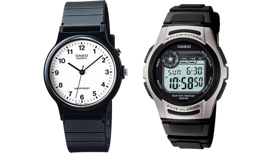 Casio MQ24-7B and W213