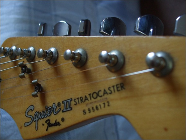 Partial tremolo system replacement for 1989 Squier II Stratocaster
