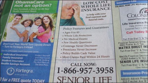 phone book ads