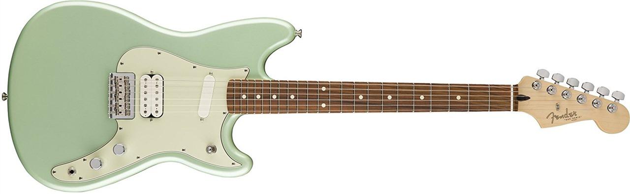 Fender 144023549 Duo-Sonic HS, Surf Green, Pau Ferro Fingerboard