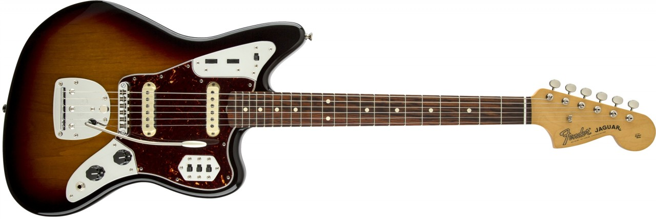 Fender Classic Player Jaguar Special, Rosewood Fretboard - 3-Color Sunburst