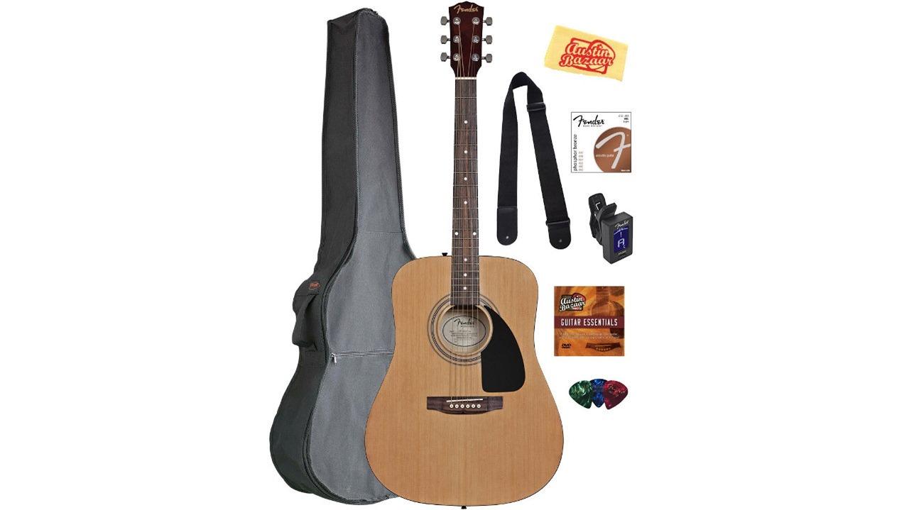Fender FA-100 guitar bundle