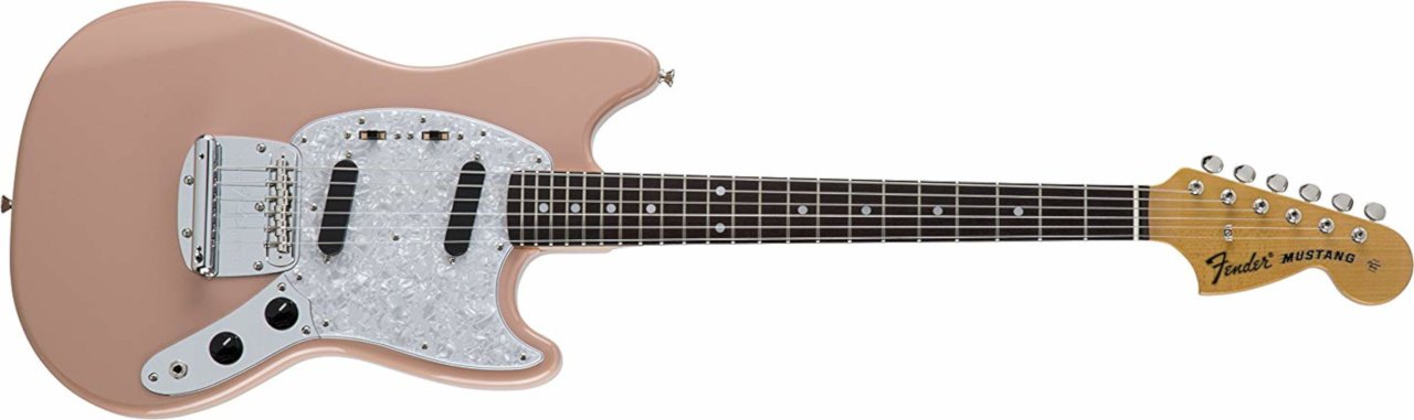 Fender Japan Traditional 70s Mustang - Flamingo Pink