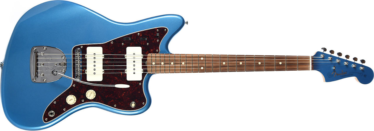 Fender Classic Player Jazzmaster PF Lake Placid Blue Limited Edition w/Matching Headcap and Gig Bag (CME Exclusive)