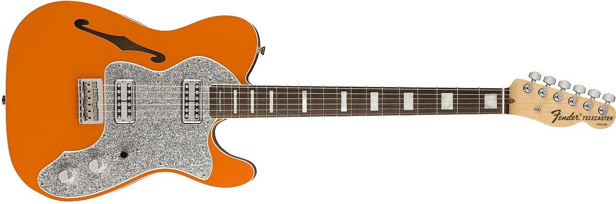 Fender Limited Edition Tele Thinline Super Deluxe, Rosewood Fingerboard, Orange