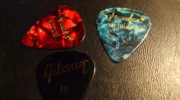 Fender and Gibson Picks