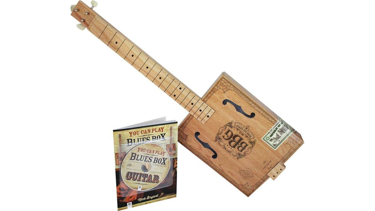 Hinkler EBB Electric Blues Box Slide Guitar Kit