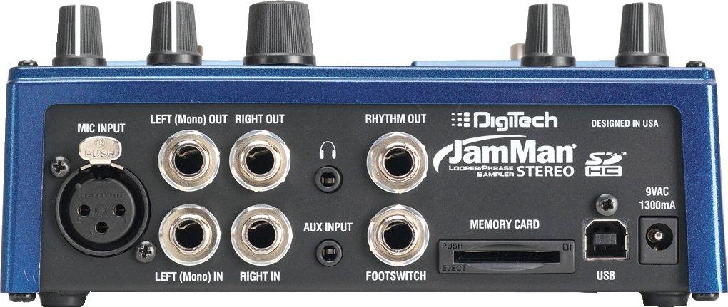 DigiTech JamMan Stereo rear