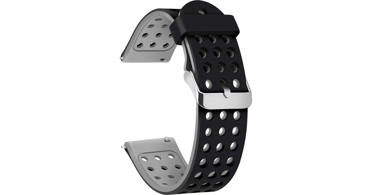 Moretek Quick Release Silicone watch strap
